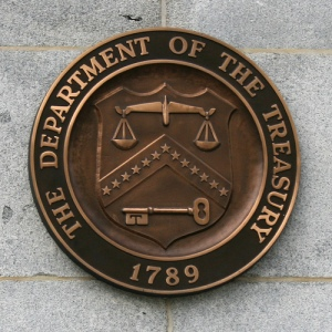 Major Federal Bailout Participant - the Treasury Department
